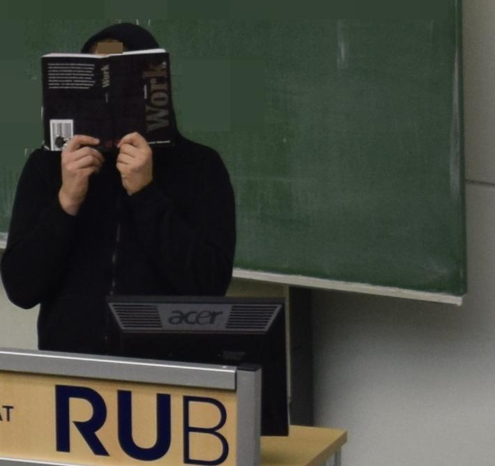 Buch an der RUB