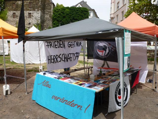 AFRR-Stand auf dem Friedensfest Iserlohn 2015