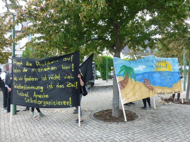 Demo in Sundern 2015